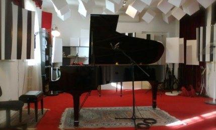 Lo studio di registrazione di ClassicaViva